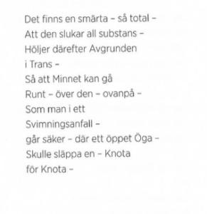 Emily Dickinson. Ur Gång på gång är skogarna rosa. Översättning Ann Jäderlund.